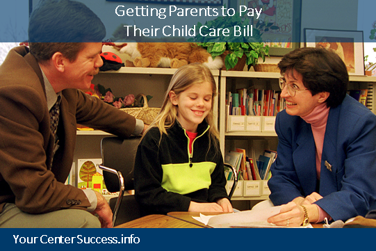 Getting Parents to Pay Their Child Care Bill